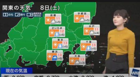 ウェザーニュース キャスター達の通過芸まとめ 檜山沙耶、白井ゆかり、角田奈緒子