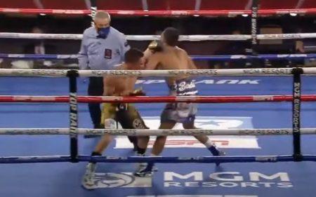 WBC世界スーパーフェザー級タイトルマッチで失神KO!ベルチェルト VS バルデス